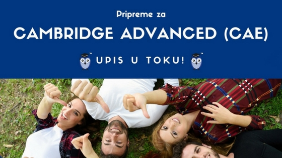 Priremite se za svoj Cambridge Advanced ispit
